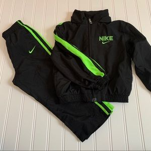 Nike track suit size 24 months GUC